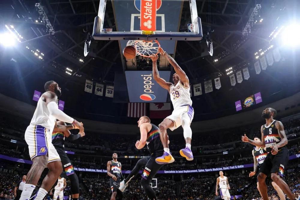 Dwight Howard, Los Angeles Lakers vs Denver Nuggets