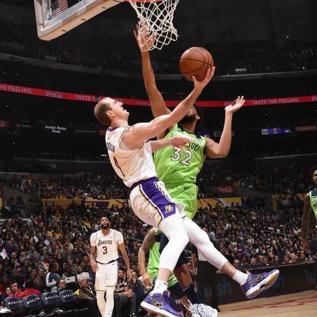 Alex Caruso, Los Angeles Lakers vs Minnesota Timberwolves
