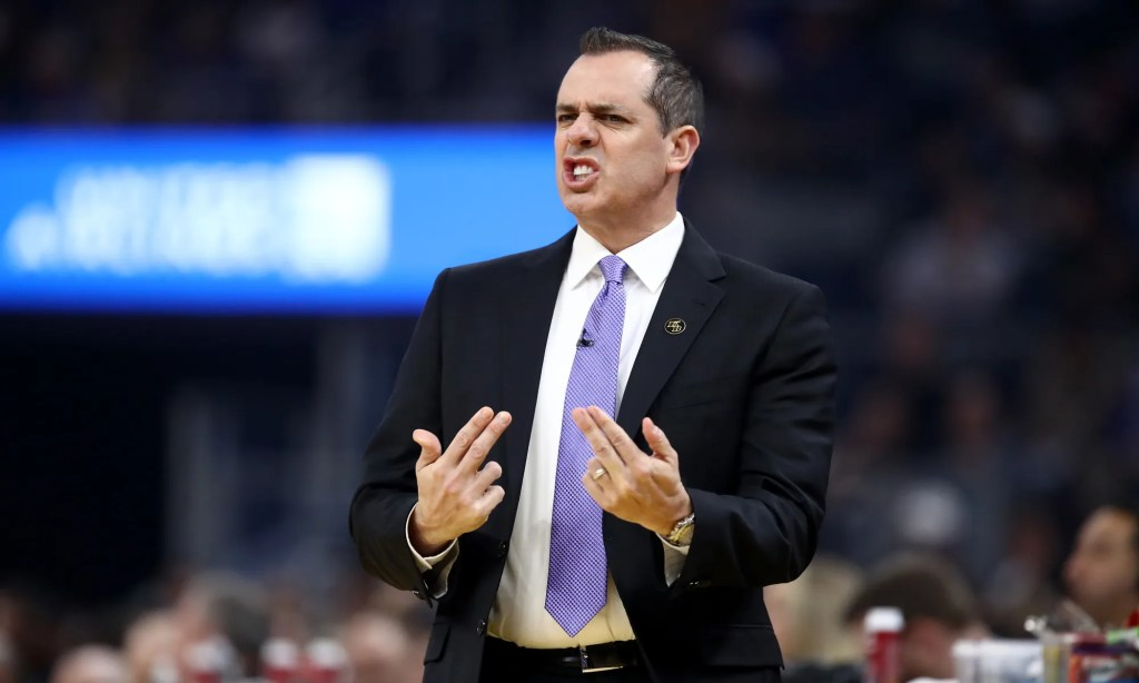 Frank Vogel, Los Angeles Lakers vs Golden State Warriors at Chase Center