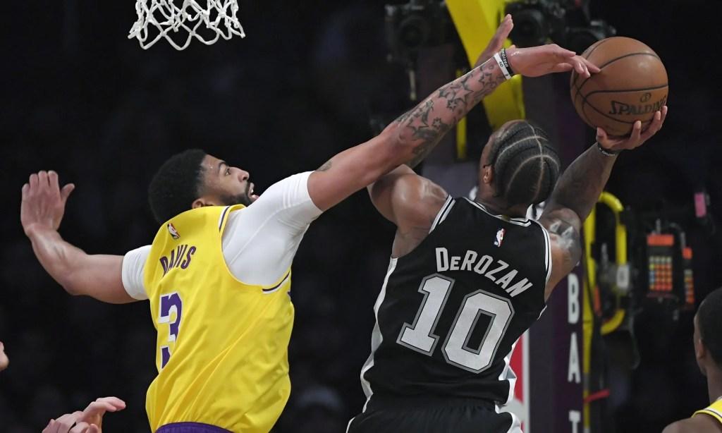 , Los Angeles Lakers vs San Antonio Spurs