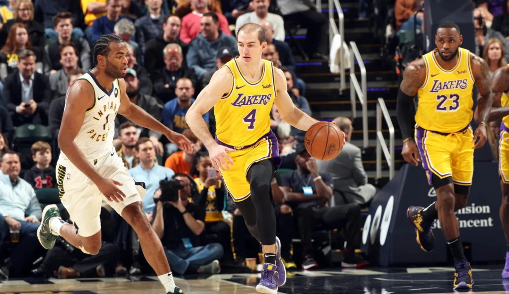 Alex Caruso, Los Angeles Lakers vs Indiana Pacers