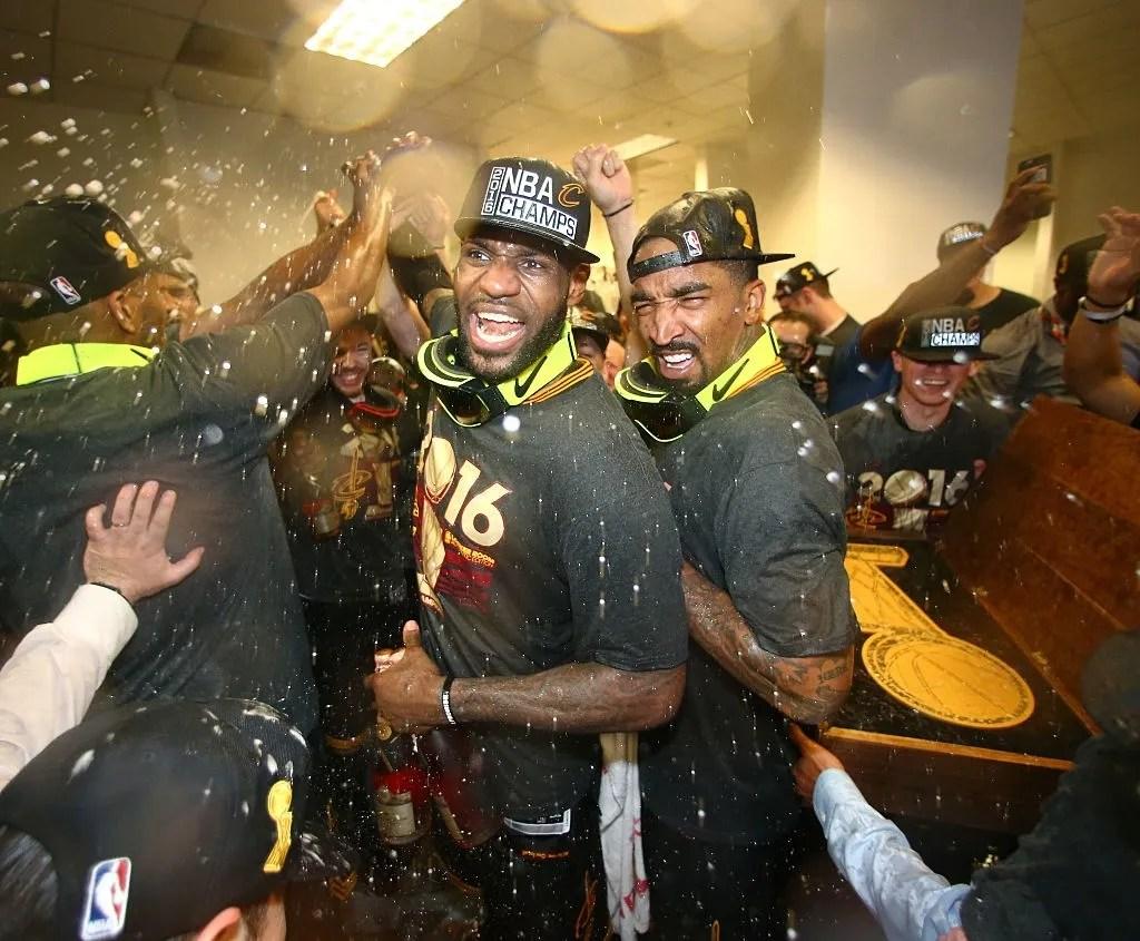 LeBron James and J.R. Smith