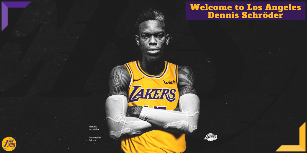 OFFICIAL: Welcome to Los Angeles, Dennis Schröder