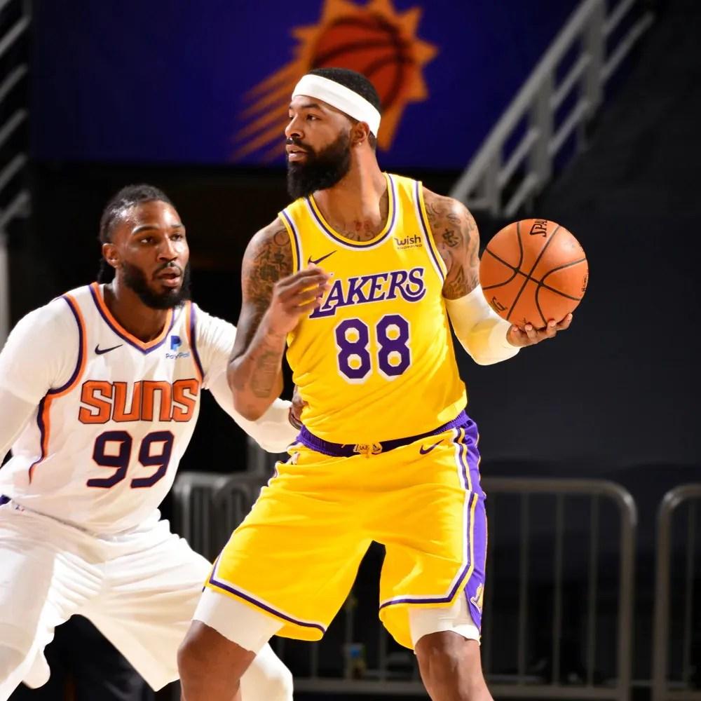 Markieff Morris, Los Angeles Lakers vs Phoenix Suns