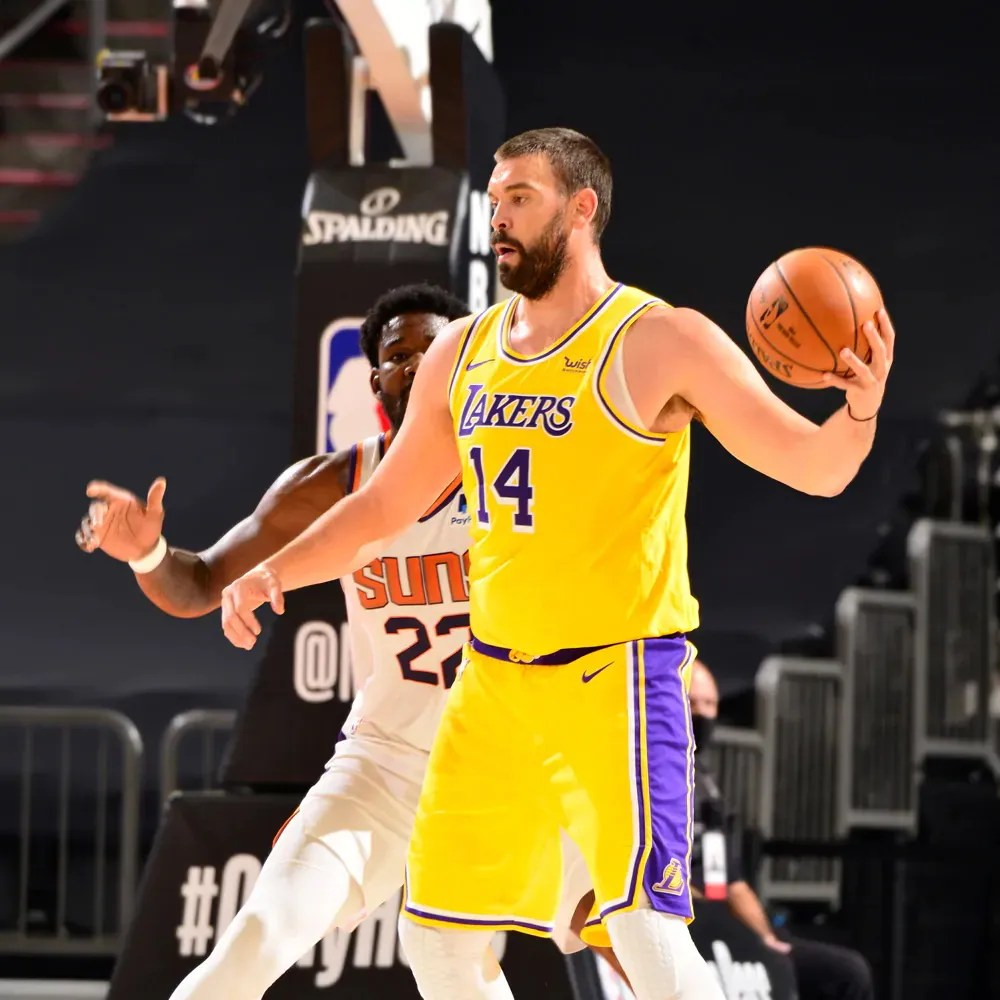 Marc Gasol, Los Angeles Lakers vs Phoenix Suns