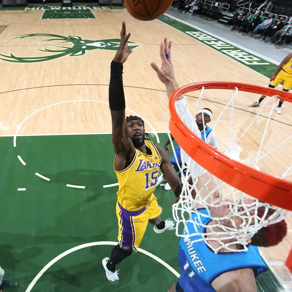 Montrezl Harrell, Los Angeles Lakers vs Milwaukee Bucks