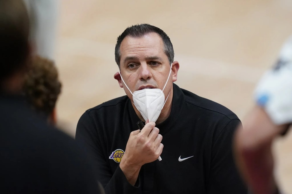 Frank Vogel, Los Angeles Lakers vs Detroit Pistons