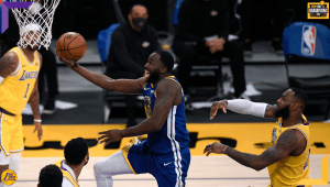 Draymond Green and LeBron James, Los Angeles Lakers vs Golden State Warriors