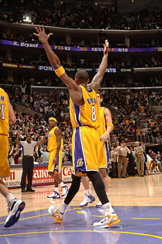 Kobe Bryant, Los Angeles Lakers vs Dallas Mavericks