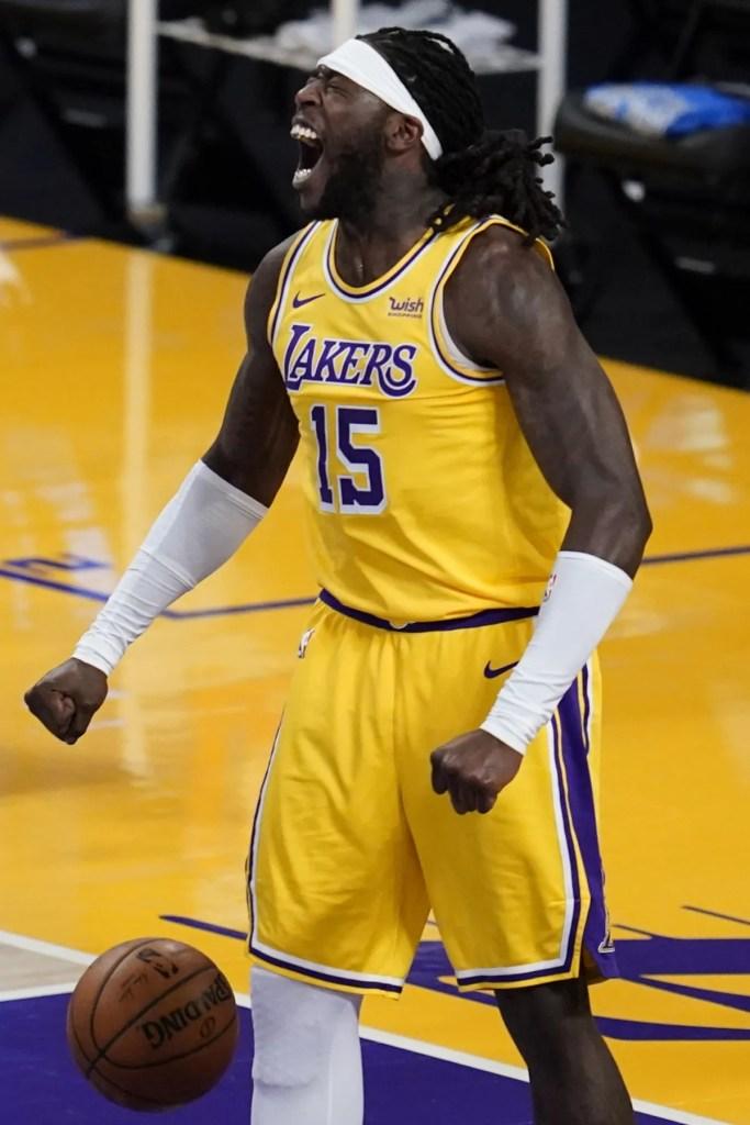 Montrezl Harrell, Los Angeles Lakers vs Oklahoma City Thunder