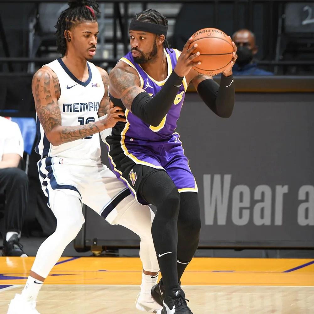 Wesley Matthews, Los Angeles Lakers vs Memphis Grizzlies