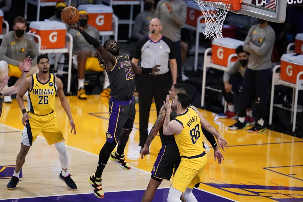 Montrezl Harrell, Los Angeles Lakers vs Indiana Pacers