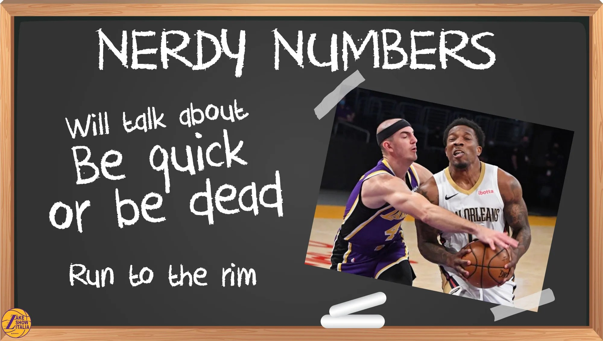 Nelle ultime gare, i Lakers hanno sono stati più efficienti e pericolosi quando sono riusciti ad alzare il ritmo ed attaccare in transizione.