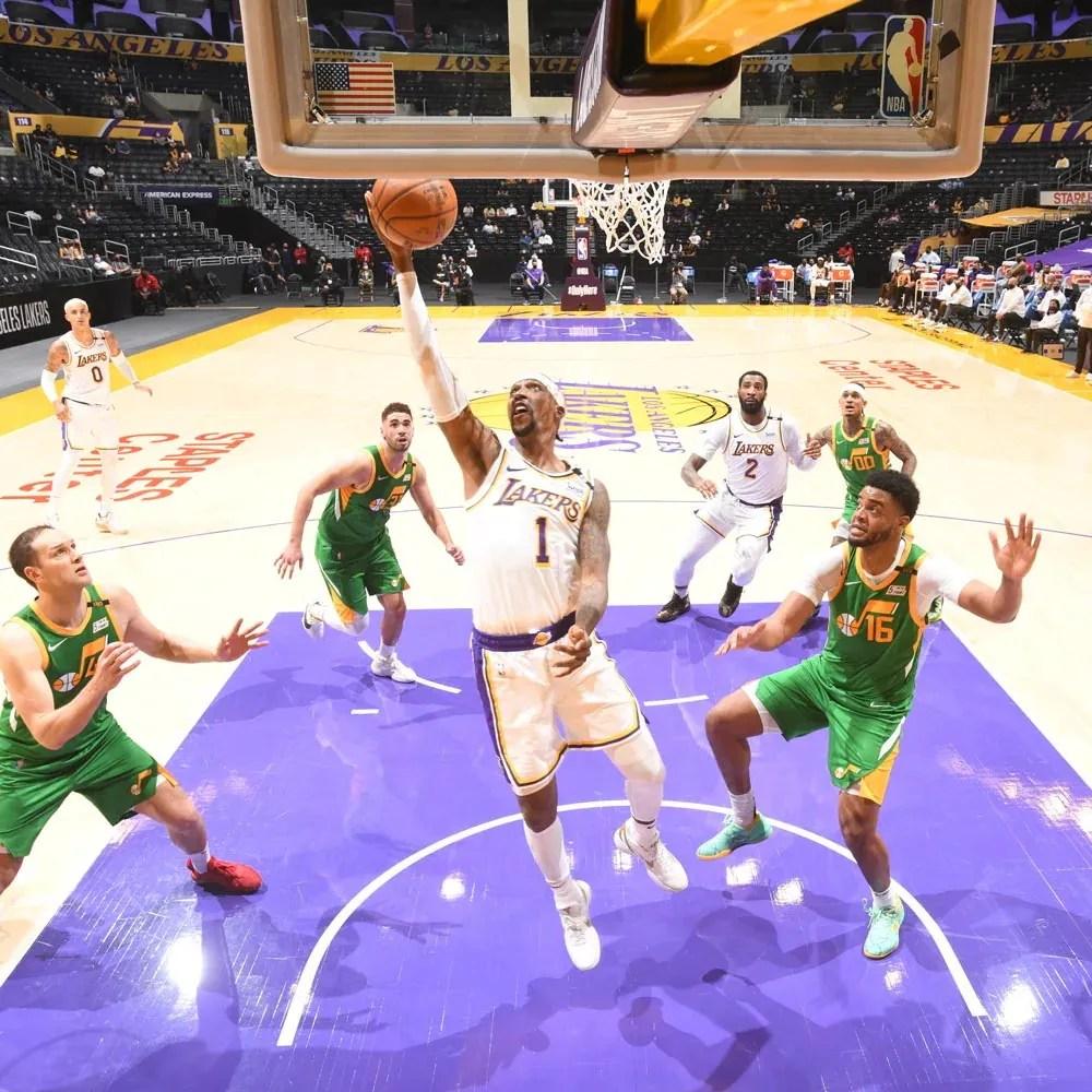Kentavious Caldwell-Pope, Los Angeles Lakers vs Utah Jazz