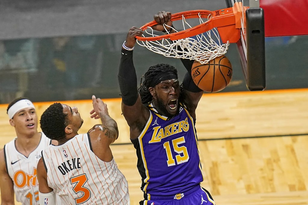 Montrezl Harrell, Los Angeles Lakers vs Orlando Magic