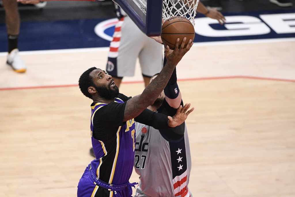 Andre Drummond and Alex Len, Los Angeles Lakers vs Washington Wizards