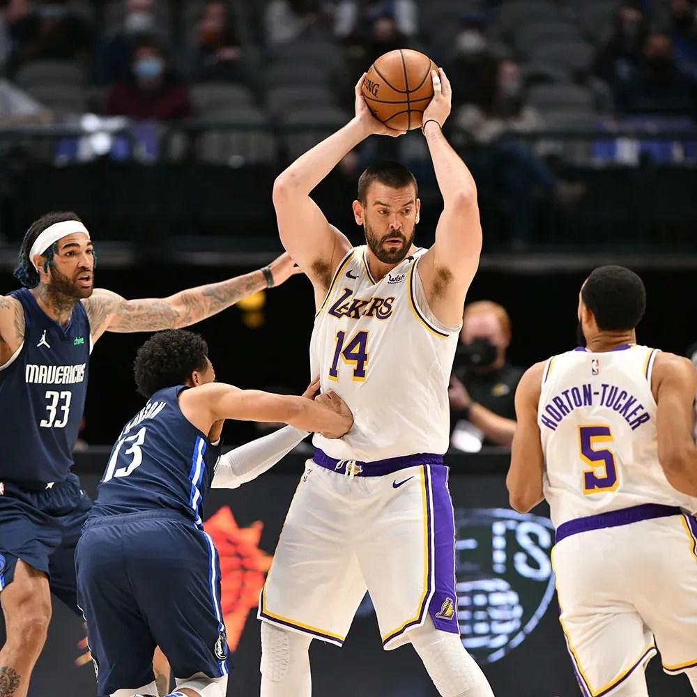 Marc Gasol, Los Angeles Lakers vs Dallas Mavericks