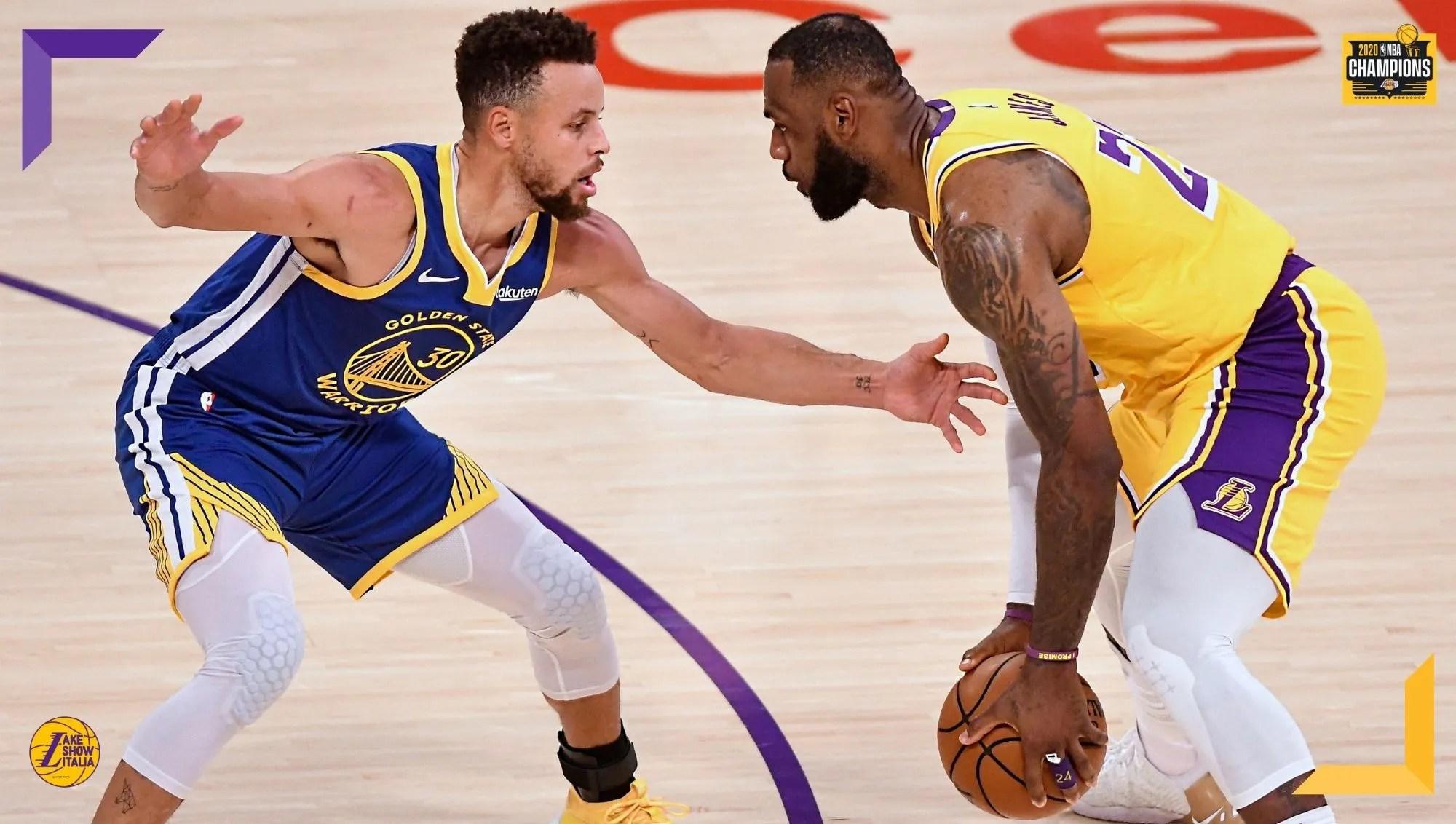 La stagione di Golden State, la strategia difensiva contro Curry e l'arma letale Anthony Davis. La preview del play-in tra Lakers e Warriors.