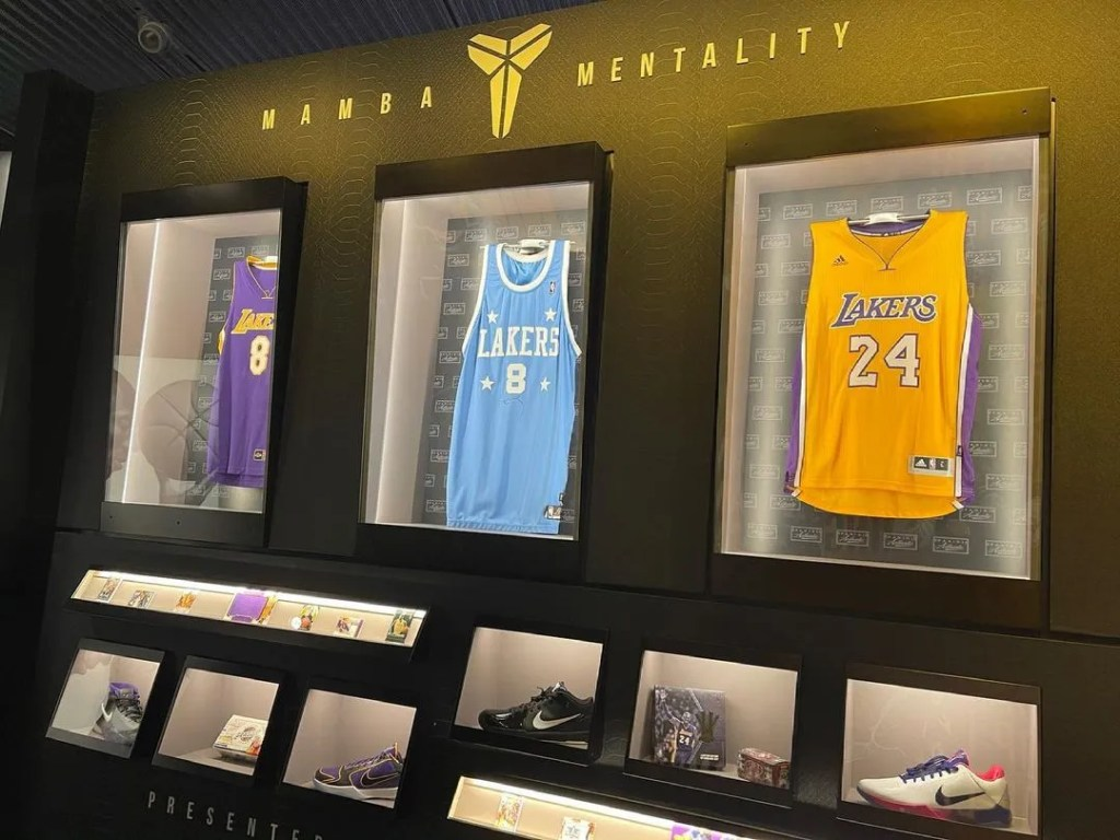 Kobe Bryant, Hall of Fame Special Exhibit