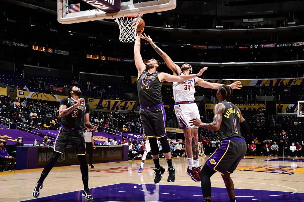 Marc Gasol, Los Angeles Lakers vs Denver Nuggets
