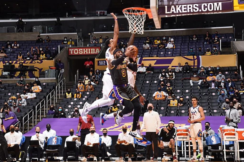 Wesley Matthews, Los Angeles Lakers vs Denver Nuggets