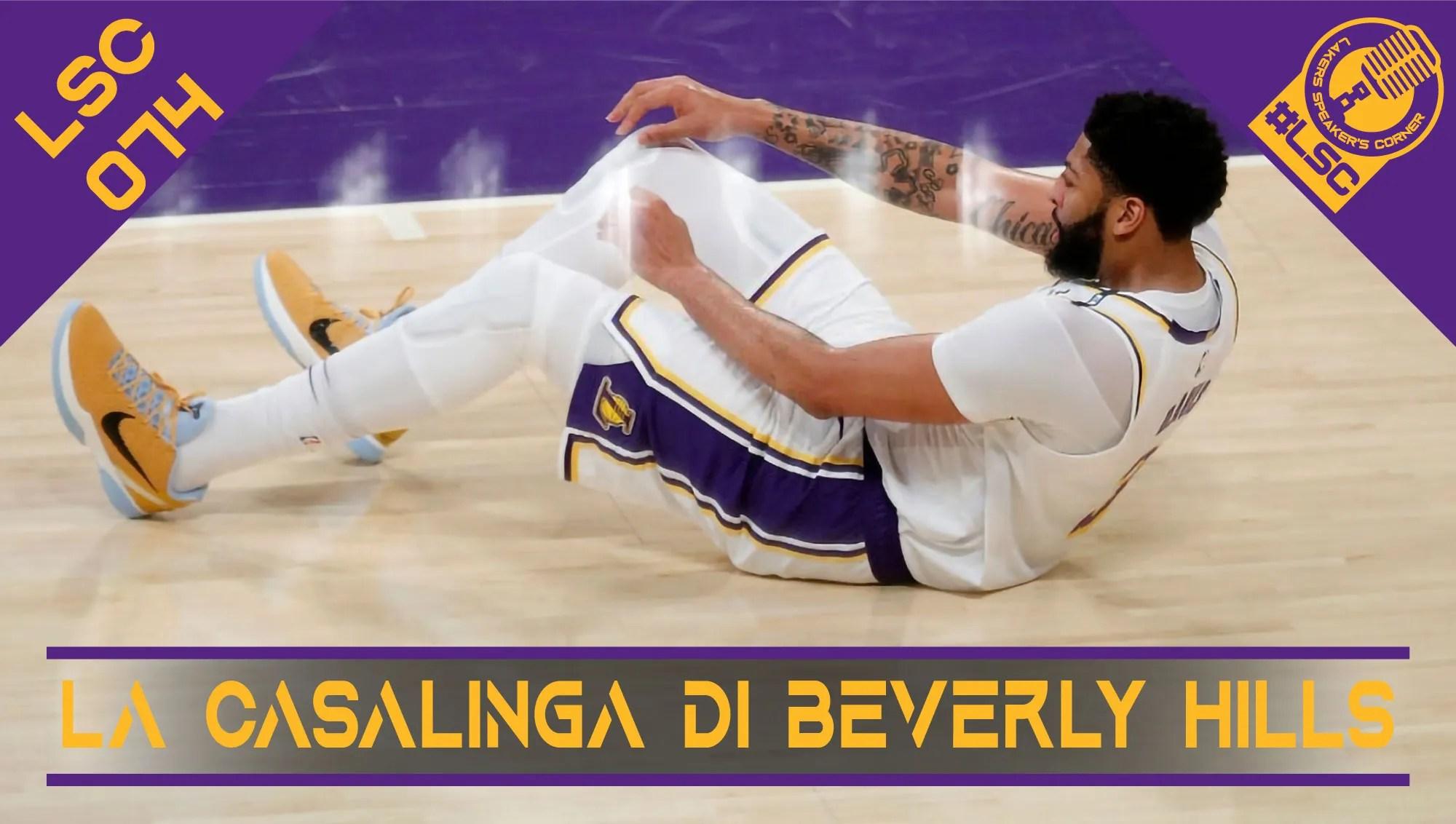 Le vittorie di gara 2 e 3, l'infortunio di Davis e la brutta prestazione in gara 4, gli scenari per il resto della serie tra Lakers e Suns.
