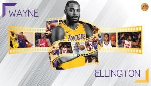 Wayne Ellington ai Los Angeles Lakers