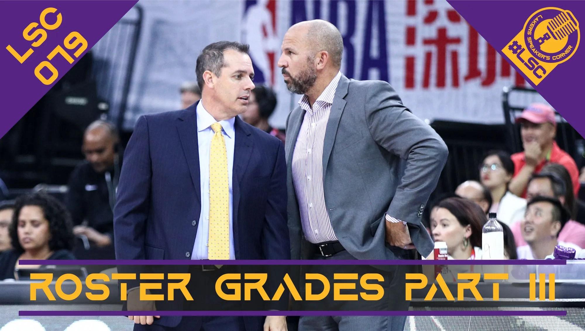 Gli errori di Rob Pelinka e Frank Vogel, i margini di miglioramento di dirigenza e staff tecnico dei Lakers in vista della prossima stagione.