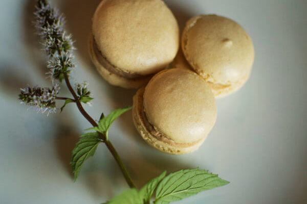 French Macarons with Chocolate Buttercream