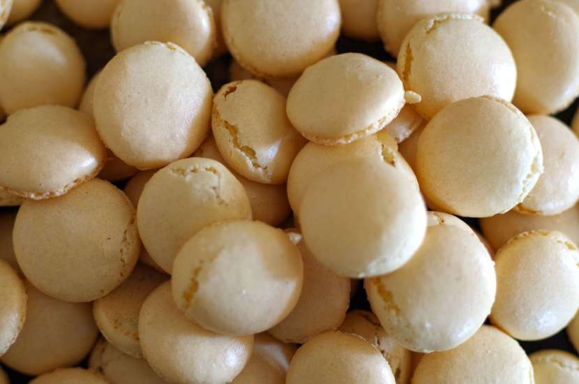 Macaron tops and bottoms