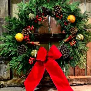 The Traditional Christmas Wreath