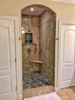 Stunning custom walk in shower