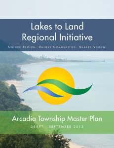 Arcadia Township Master Plan Page