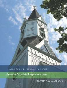 Tab 4: Arcadia Township People and Land (8MB)