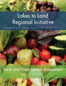 Farm and Food System Assessment