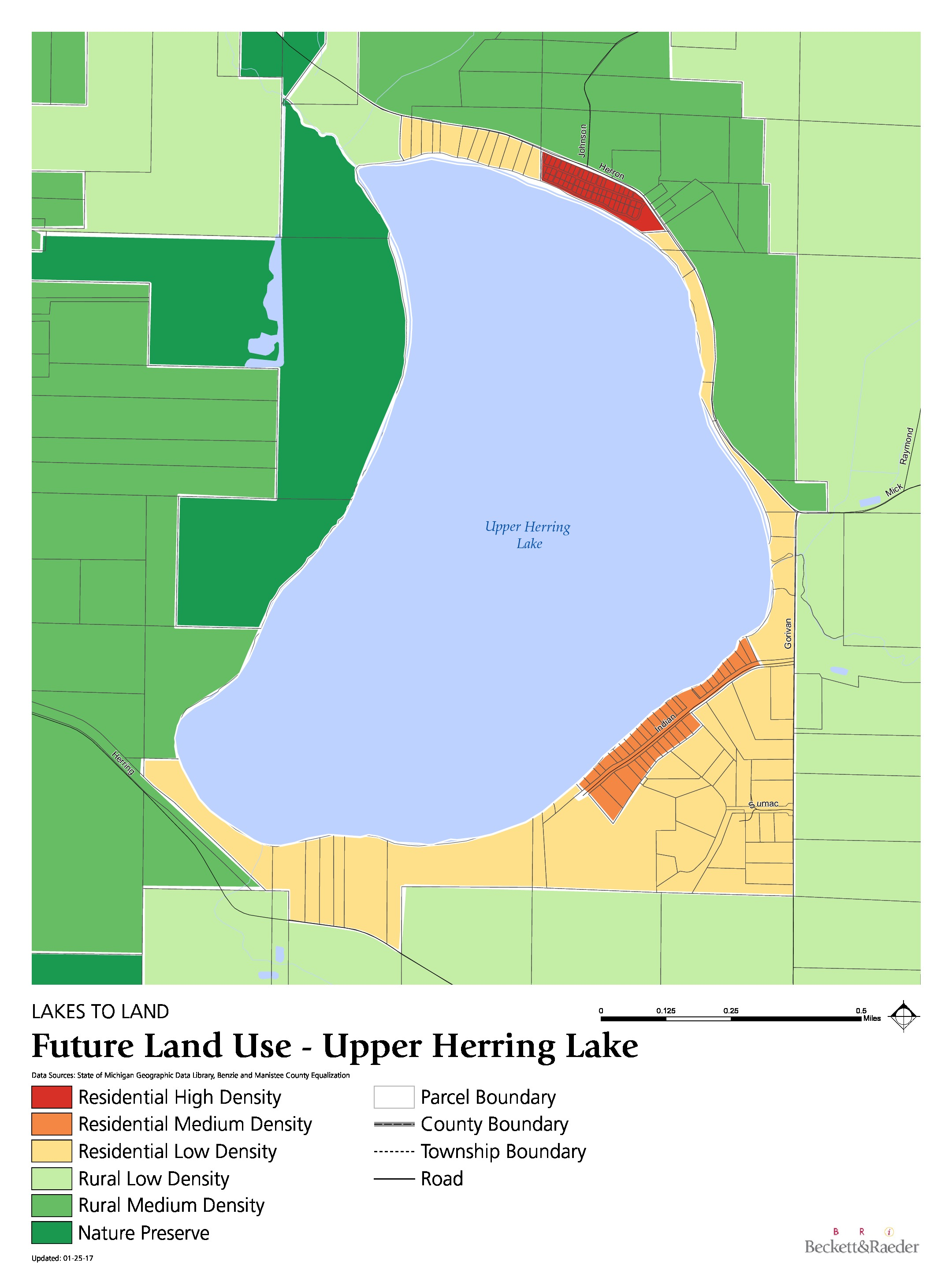 Future Land Use - Upper Herring Lake