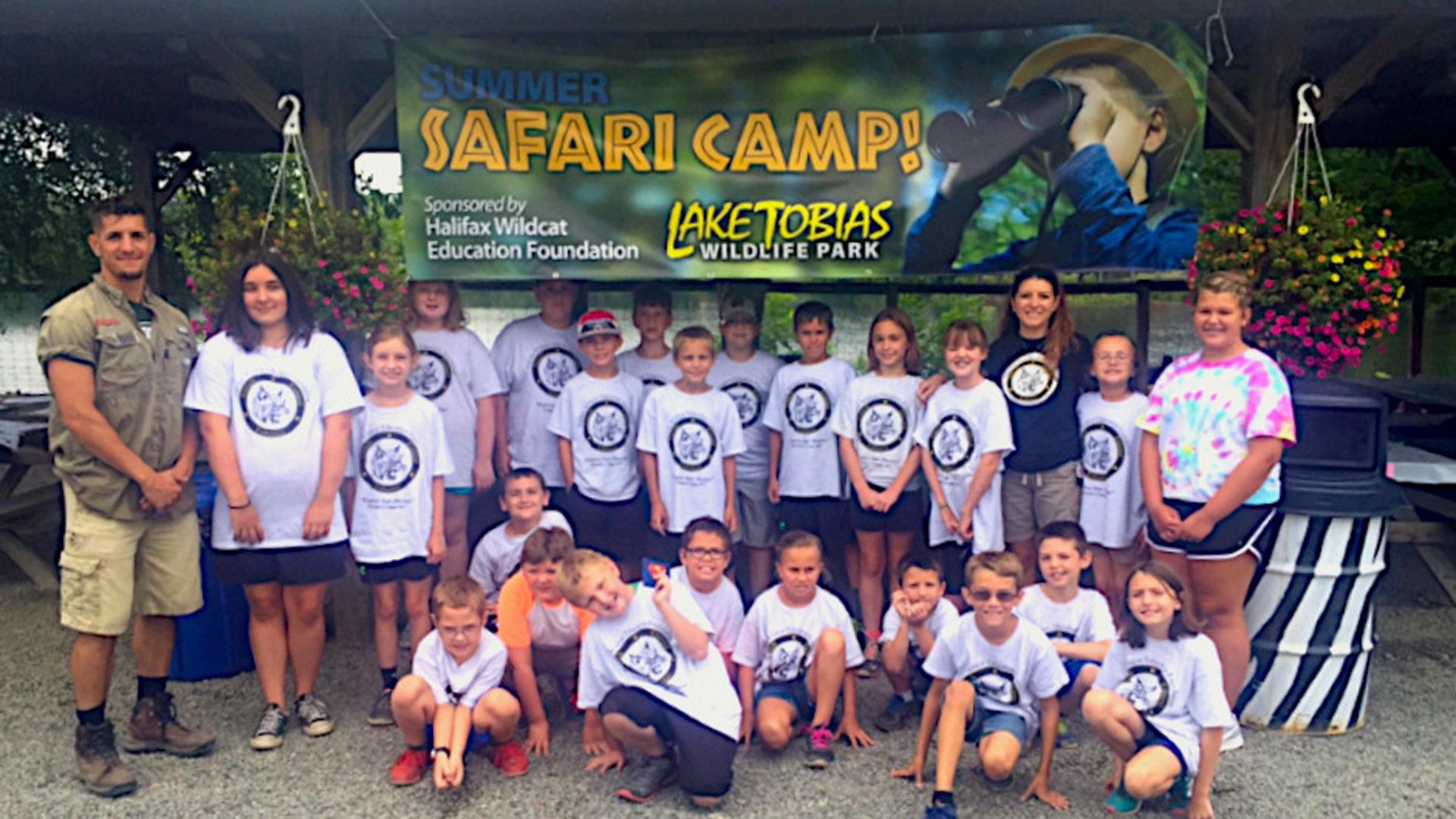 Lake Tobias Wildlife Park summer camp
