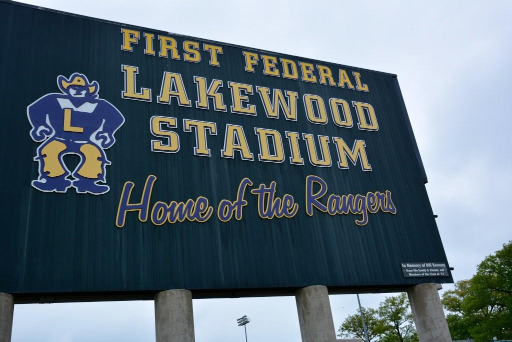 First Federal Lakewood Stadium, Football Rangers