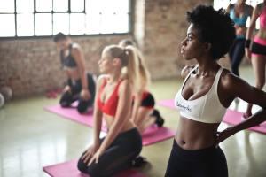 Black-woman-yoga-studio