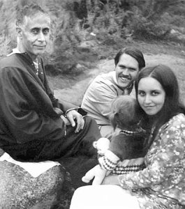 Swami Lakshmanjoo and John Hughes family