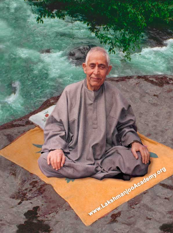 Swami Lakshmanjoo Shiva Rock