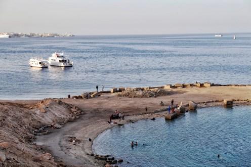 cruiseschepen versus publieke strand
