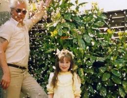 foto van mij en mijn vader in mijn ouderlijk huis
