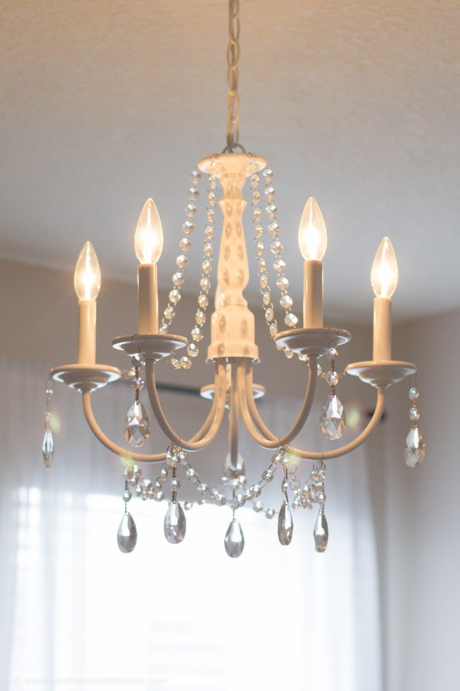 You Can Make Your Own Diy Crystal Chandelier This Site Shows How