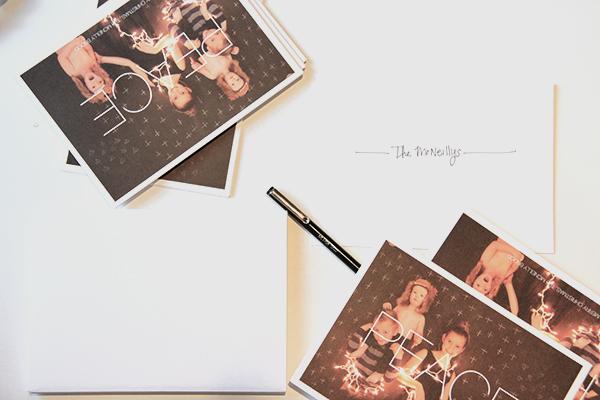 Christmas Cards via La La Lovely