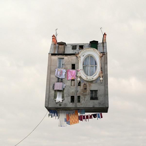 flying-houses-1. via la la lovelyjpg