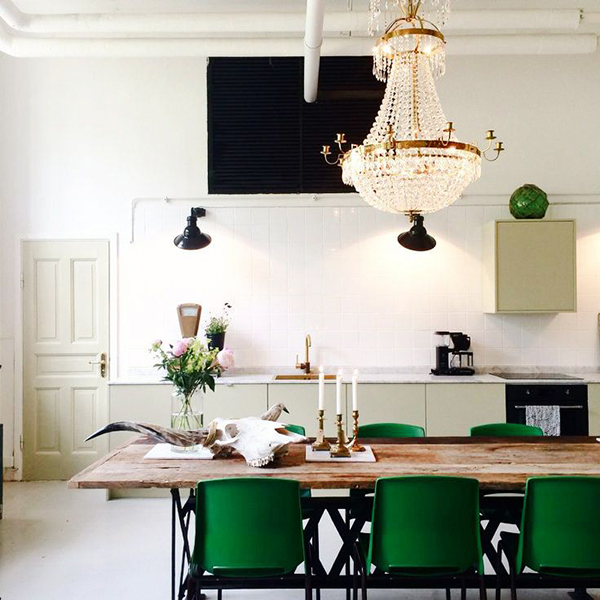 la la loving rustic fancy kitchen