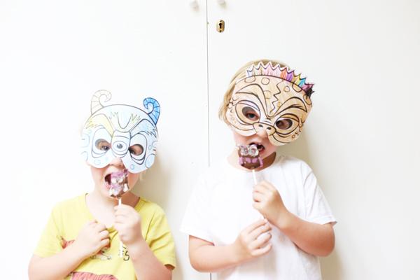 Kids Masks | La La Lovely Blog