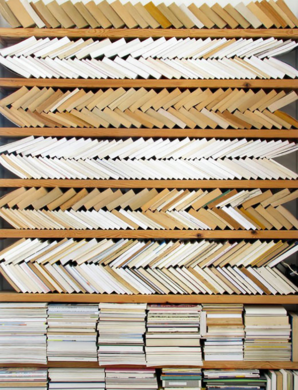 patterned books