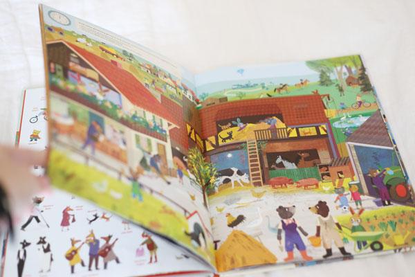 busy bunny town book   La La Lovely